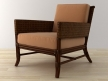 Rawhide Weave Lounge Chair 2