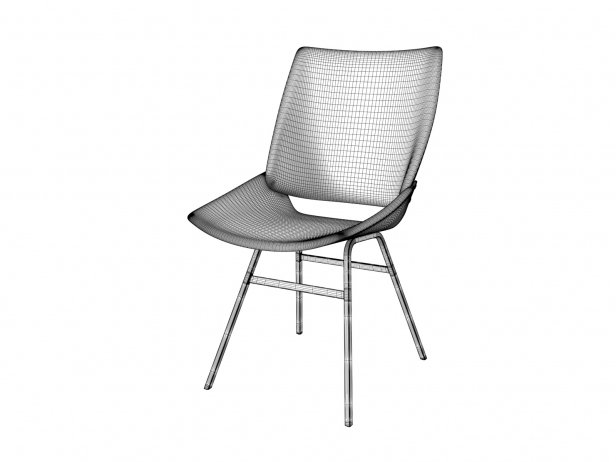 Shell Chair Upholstered 4