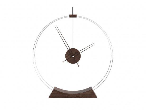 Double Rings Desk Clock 3