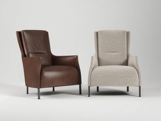 Riga Armchair & Footstool 2