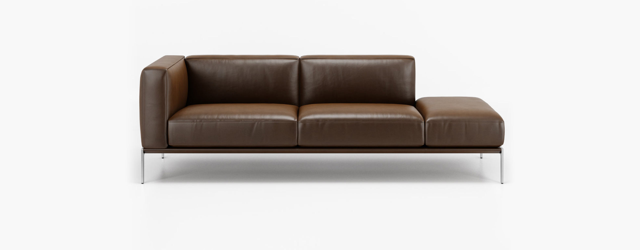 1343 PIU sofa by Intertime - 3d model developed in collaboration with Design Connected