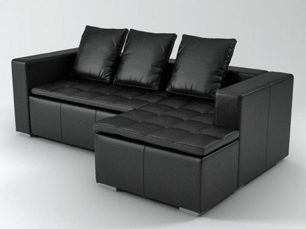 Mezzo sofa 3d model boconcept - Chaises bo concept ...