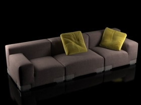 Plastics Duo Sofa 3