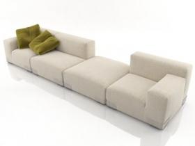 Plastics Duo Sofa 5