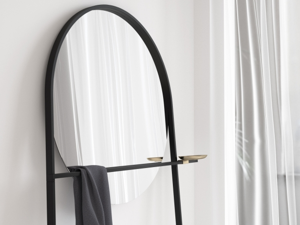 Geoffrey Mirror and Clothes Stand 1