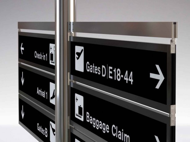 Signage Tree Airport System 3