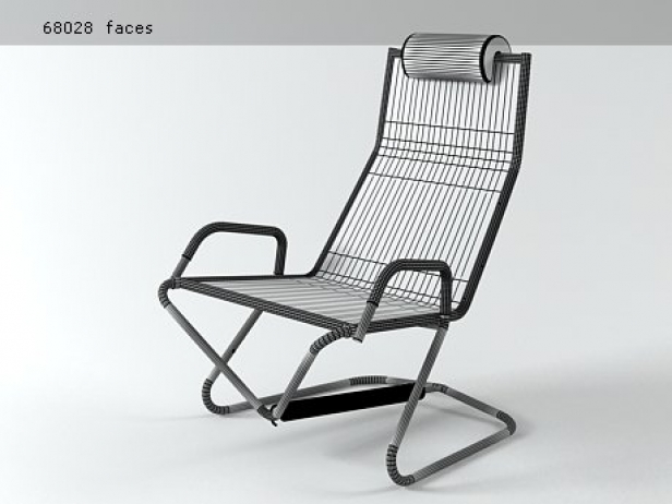 D 36 Hover Lounge Chair 10