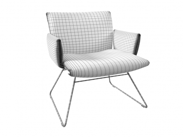 DS-515 Lounge Chair with Armrests 13
