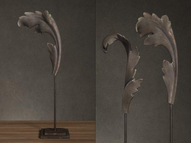 Cast Acanthus Leaves On Stands 3d Model Restoration