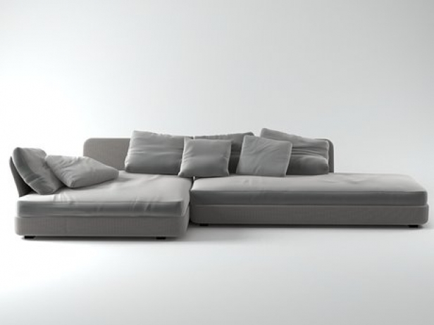 cove sofa 01 3d modell paola lenti. Black Bedroom Furniture Sets. Home Design Ideas