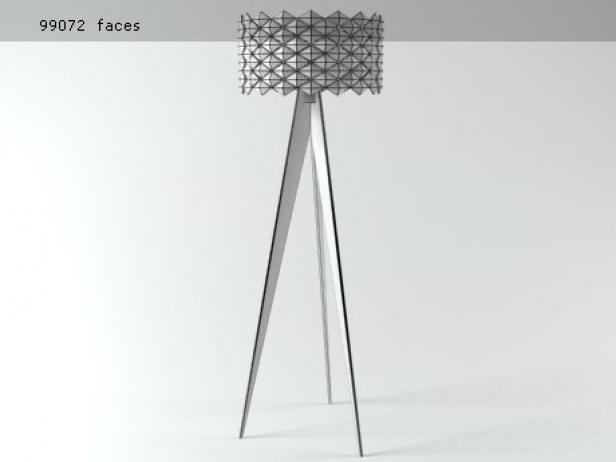 Diamonds floor lamp 7