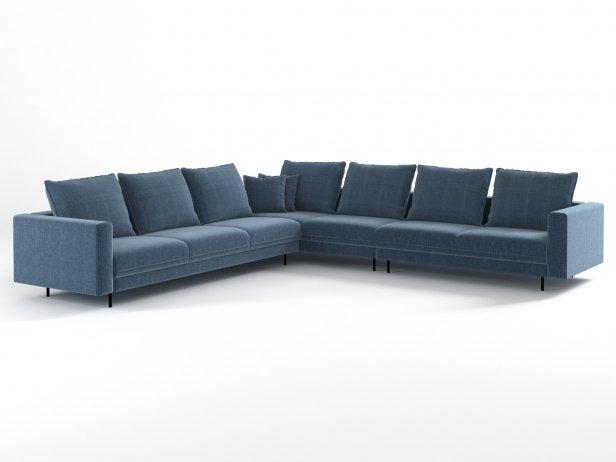 Enki Corner Sofa 1