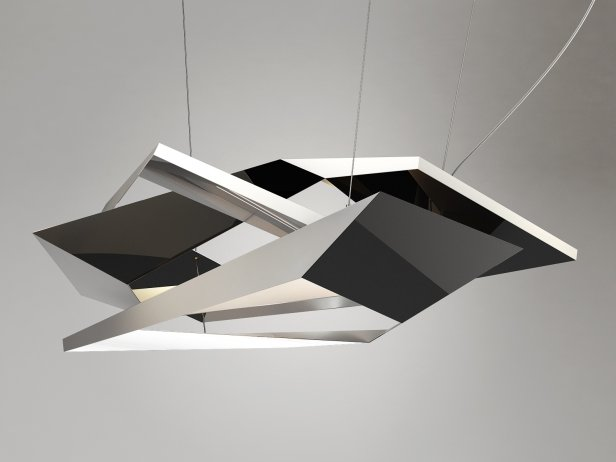 Polygon Crash Pendant Light 3
