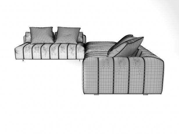 Freeman Corner Sofa System H 8
