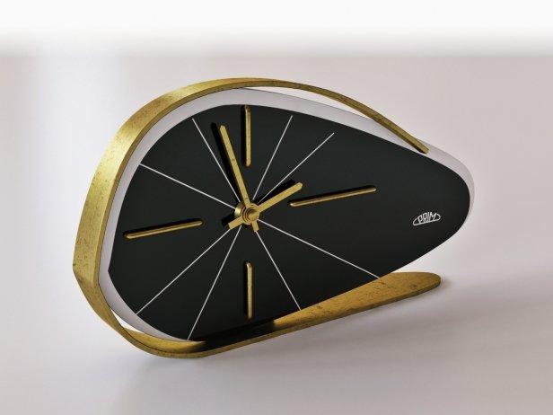 1960s PRIM Brusel Style Vintage Table Clock 2