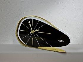 1960s PRIM Brusel style Vintage table clock