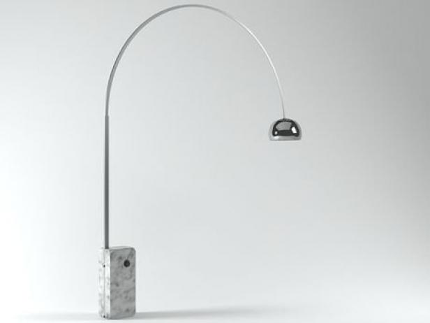 Arco floor lamp 3d model flos arco floor lamp 2 aloadofball Gallery