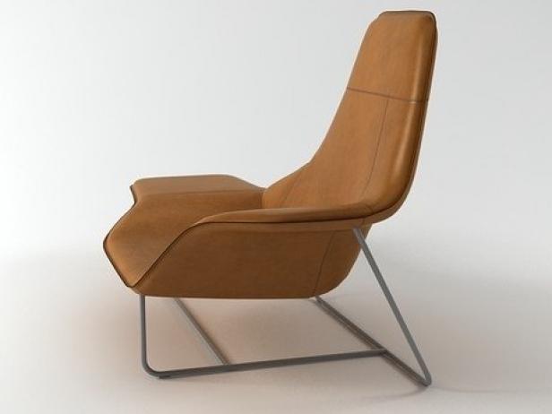 921 Lama 3d model   Zanotta Zanotta Lama Chaise Longue on chaise recliner chair, chaise furniture, chaise sofa sleeper,