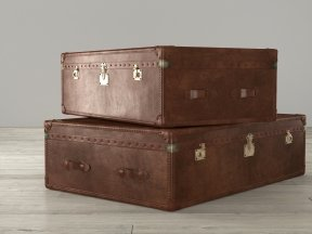 RH Mayfair Steamer Trunk Coffee Table