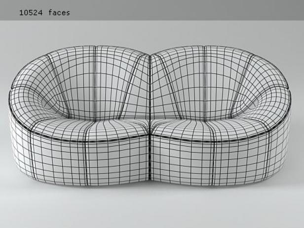Pumpkin Sofa 3