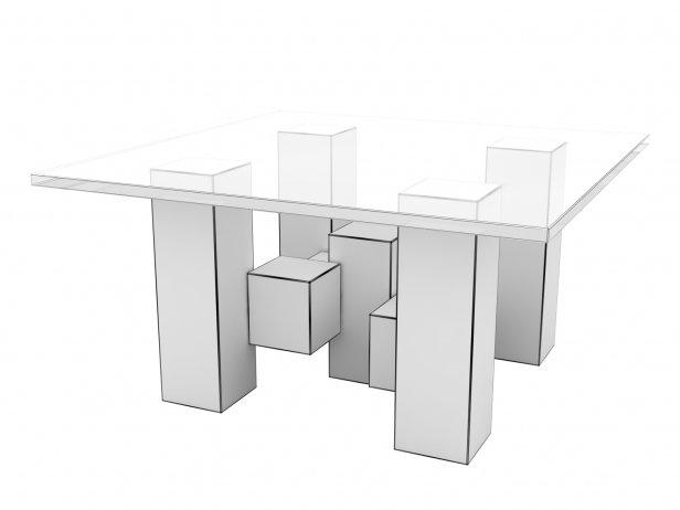 Cityscape Coctail Table 2