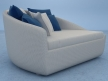 Lounge Chair & Footstool 19