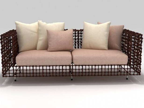 Yin Yang Sofa 3d Model Kenneth Cobonpue