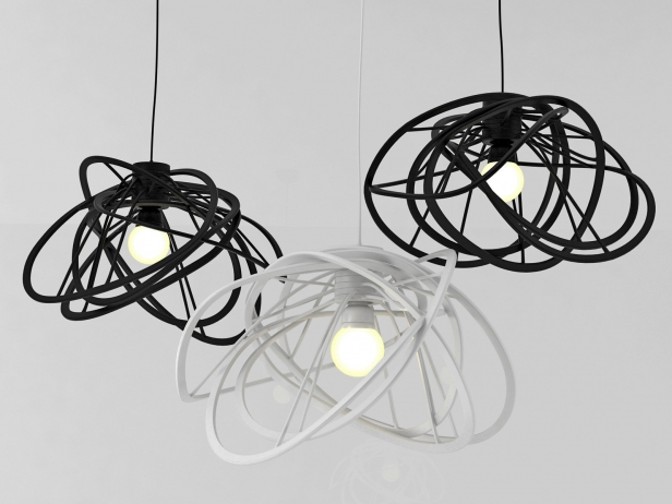 bloom pendant mod le 3d ligne roset. Black Bedroom Furniture Sets. Home Design Ideas