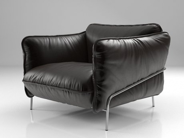 Continental armchair 3d model Swedese Möbler AB