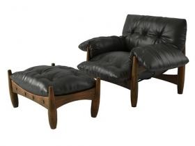 Mole Armchair & Footstool