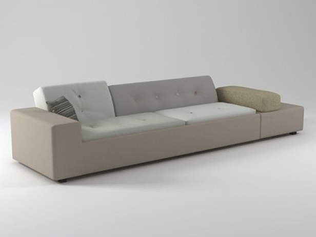 polder sofa 3d model vitra. Black Bedroom Furniture Sets. Home Design Ideas