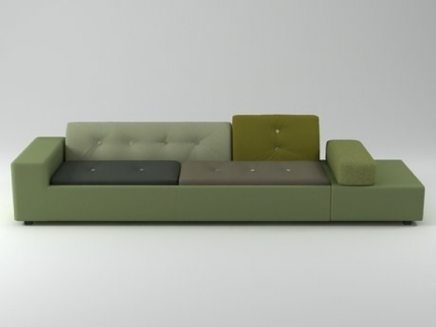 polder sofa 3d modell vitra. Black Bedroom Furniture Sets. Home Design Ideas