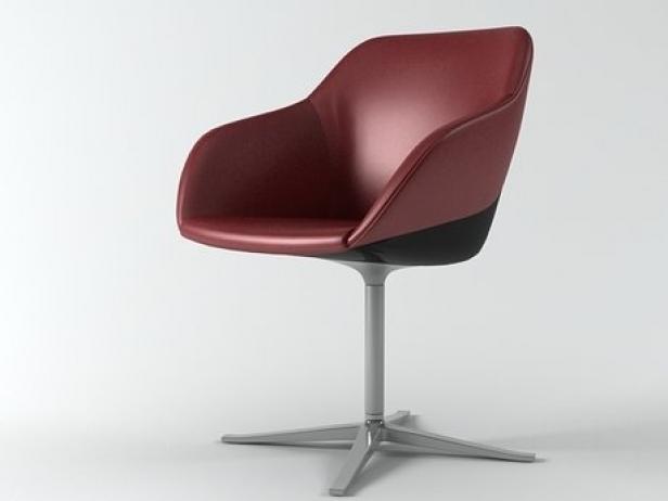 turtle chair 3d model walter knoll. Black Bedroom Furniture Sets. Home Design Ideas