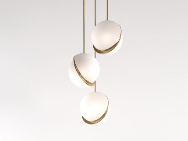 Crescent Pendant Light 3