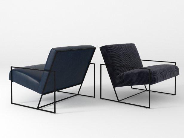 Thin Frame Lounge Chair 3