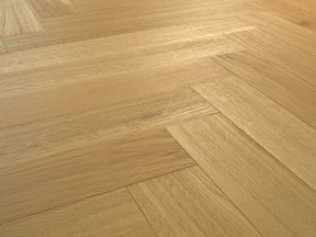 Herringbone Natural Oak Flooring