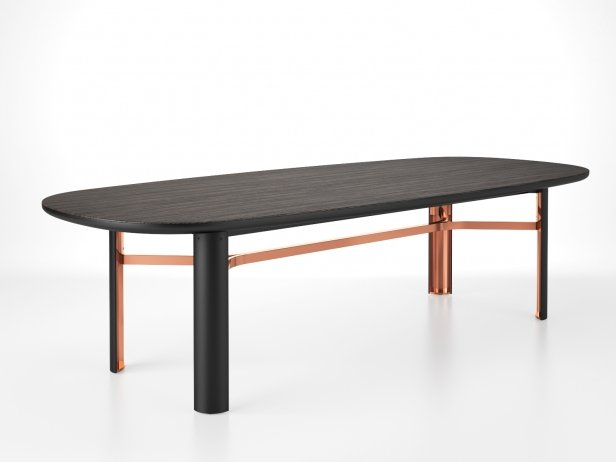 Dan Oval Dining Table 5