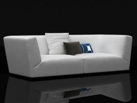 Soho high-arm sofa