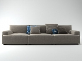 Soho low-arm sofa system