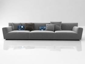 Soho middle-arm sofa system