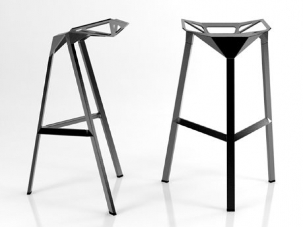 Stool One 3d Model Magis