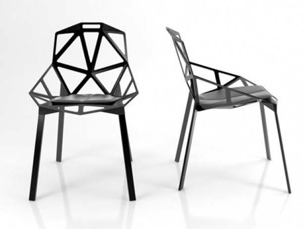 Chair One 3d Model Magis