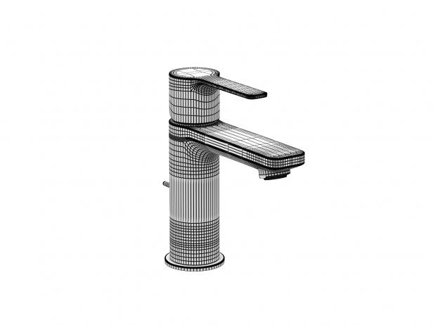Cube Wall-hung Basin 45 Set 11