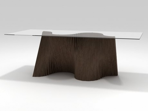 Wave Dining Table 3d Model Kenneth Cobonpue Philippines
