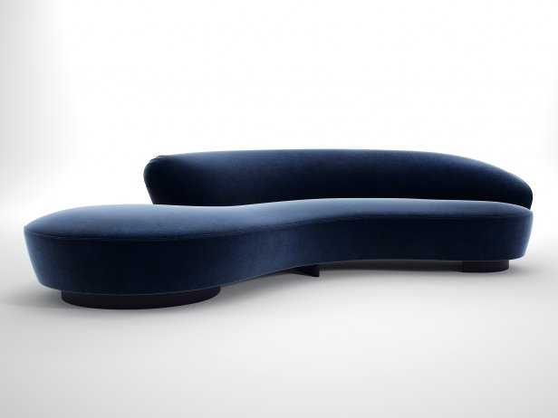 Serpentine Sofa 1
