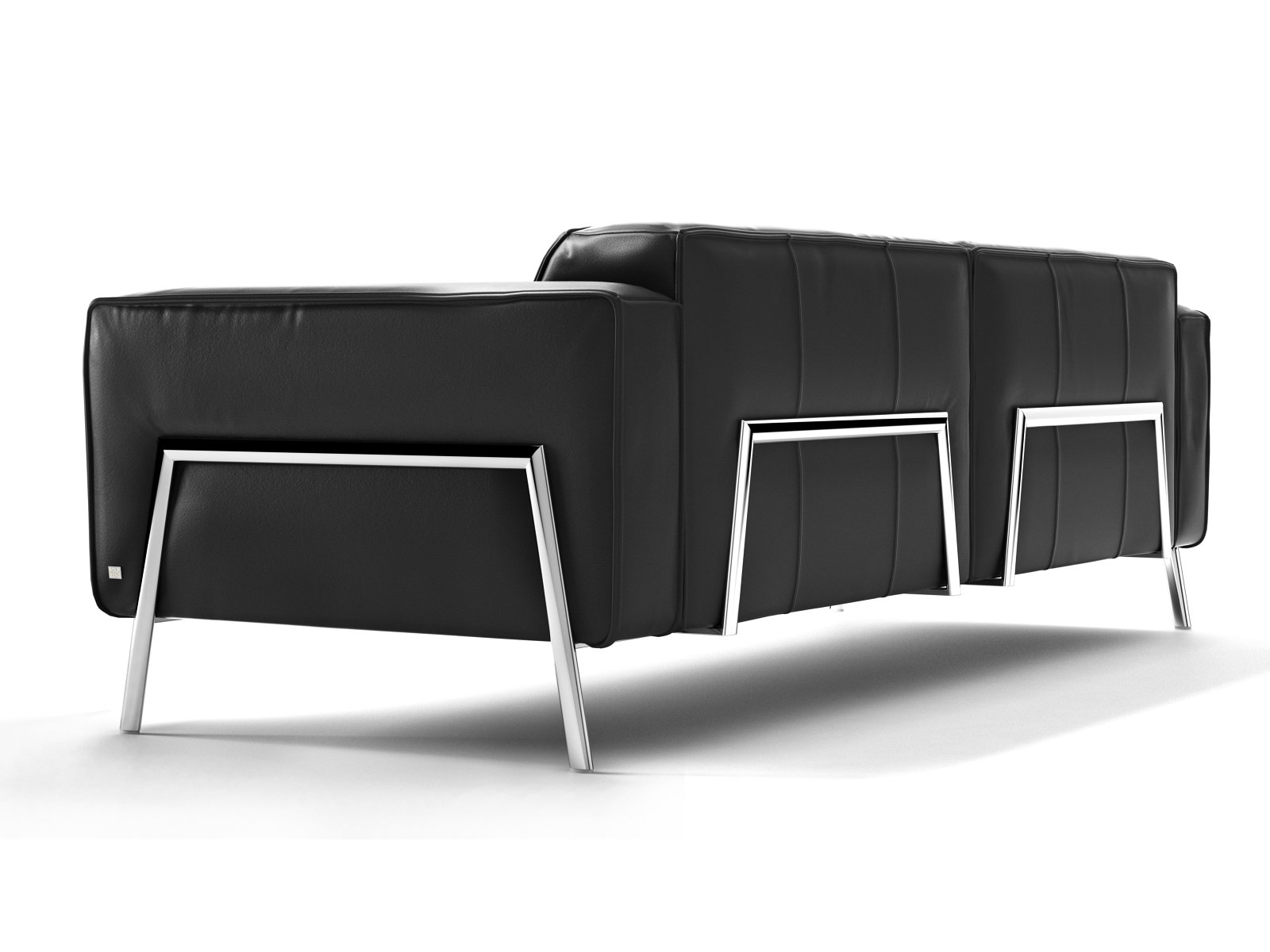bacio sofa 227 3d model rolf benz. Black Bedroom Furniture Sets. Home Design Ideas