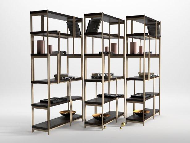 Mondrian Bookshelf 3