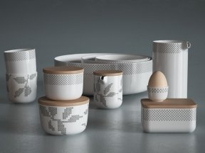 MENU Stitches Dinnerware Collection