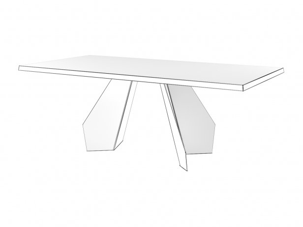 Origami 160 & 200 Dining Table 6
