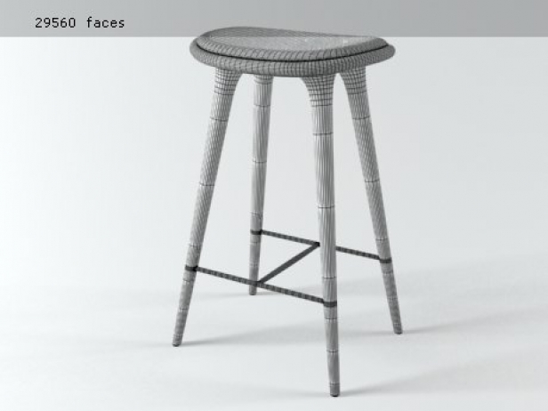 High and Low Stool 9